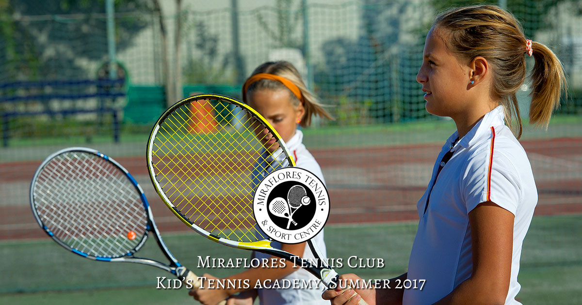 Miraflores Tennis Club Kid's Academy Summer 2017