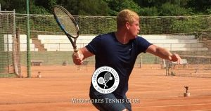 A Great Tennis Game at Miraflores Tennis Club, Mijas Costa, Malaga, Spain