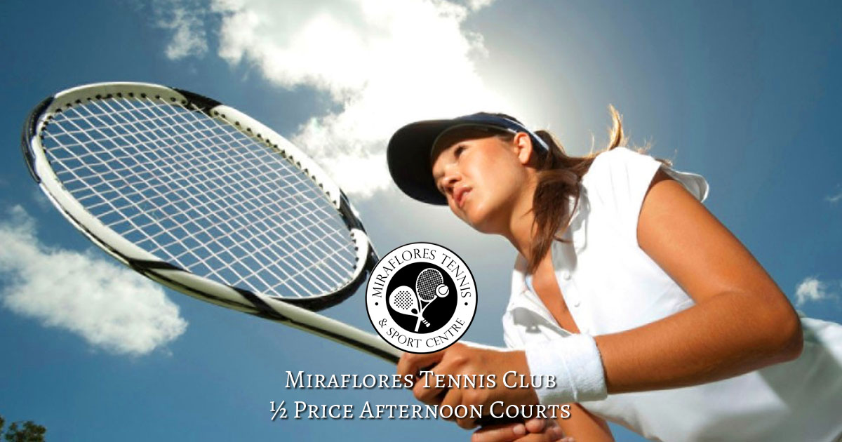 Miraflores Tennis Club Half Price Tennis Courts OG