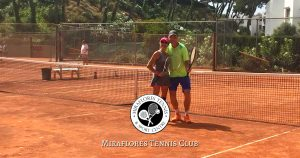 Mix-In Matches at Miraflores Tennis Club, Mijas Costa, Malaga, Spain