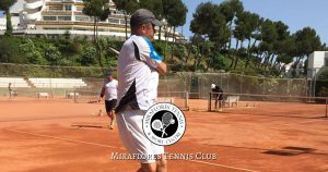 Tennis Coaches at Miraflores Tennis Club, Mijas Costa, Malaga, Spain