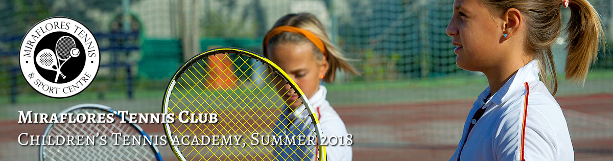 Children's Summer Tennis Academy, Miraflores Tennis Club