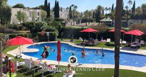 Miraflores Tennis Padel Sports Club - Summer 2018 - Swimming Pool Family Fun - Miraflores, Mijas Costa, Costa del Sol, Spain OG02
