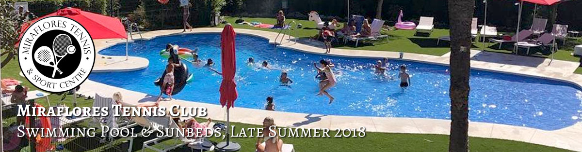 Miraflores Tennis Padel Sports Club - Summer 2018 - Swimming Pool Family Fun - Miraflores, Mijas Costa, Costa del Sol, Spain P01