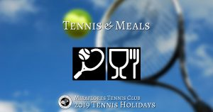 Tennis & Meals in El Pelorojo